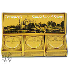 Geo F Trumper Sandalwood Hand Soap Box of 3 x 75 g (w075034)