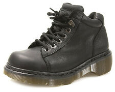 NEW Dr. Martens Airwair Grizzly Black Mid-top Boot, Women Size 7 (5 UK) $130