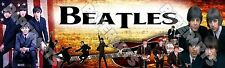 """The Beatles Poster Banner 30"""" x 8.5"""" Personalized Custom Name Printing for Kids"""