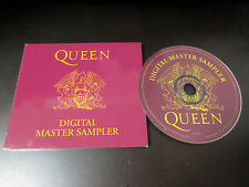 Queen Digital Master Sampler UK Promo only CD 1994 Bad Condition Freddie Mercury