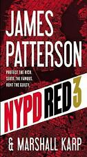NYPD Red 3, Karp, Marshall, Patterson, James, New Book