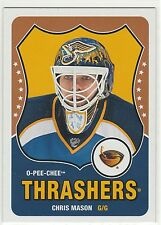 2010-11 O-Pee-Chee Retro Blank Backs #380 Chris Mason Atlanta Thrashers