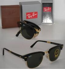 Ray-Ban Folding Clubmaster RB 2176 901 51MM Black Frame With Green G-15 Lenses