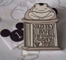 Old Fly Bait Frog Toad Haunted Mansion Tombstones 2009 Hidden Mickey Disney Pin
