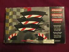 Carrera Exclusiv Evolution 3 Inside Shoulders For Curve Track 20551 1:24 Scale