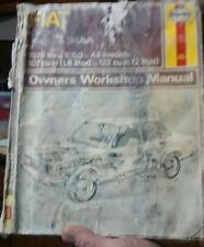 Fiat 131 & Brava workshop manual for years 1975-1980 by Haynes