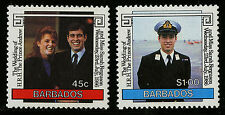 Barbados   1986   Scott #687-688    Mint Never Hinged Set