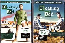 Breaking Bad Season 1 & 2 - DVD TV Shows First Second BRAND NEW
