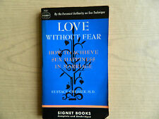 Love Without Fear, Marriage Sex Guide 1949, Signet 1st