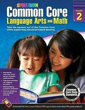 Spectrum: Common Core Language Arts and Math, Grade 2 (2014, Paperback)