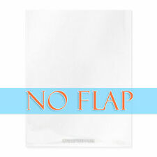 100 Pack Open A2 Card & Envelope Cello Bags, No Flap, No Adhesive, 4-5/8x5-3/4""