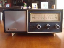 VINTAGE PANASONIC AM-FM SOLID STATE TRANSISTOR RADIO MODEL # RE-6137