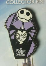 Disney Jerry Leigh Pin Nightmare Before Christmas Jack Skellington in Coffin OC