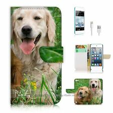 iPod Touch 5 iTouch 5 Flip Wallet Case Cover! P1877 Puppy Dog