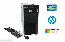 HP Z800 Workstation Xeon Quad Core 2.93GHz 8GB RAM 500GB HD NVIDIA DVDRW