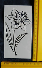 Plastic/pvc/embossing / stencil/small/daffodil / flower/beautiful/bendy