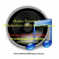 CD - Audio - A Selection of 50 Short Stories Vol.2 -  50 Audio Books