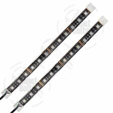 2x RGB 8 inch LED Strip Multi Color SMD Remote iOS Android App Controlled Kits