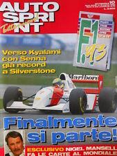 Autosprint n°10 1993 Record di Ayrton Senna [P11]