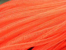 4mm SKINNY TUBULAR CRIN RED CYBERLOX DREADS 5 METRES GIFT WRAPPING