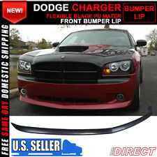 05-10 Dodge Charger OE Factory Style Front Bumper Lip Unpainted - Urethane