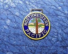 Northwestern Pacific Railroad Train Logo Watch Fob