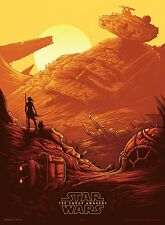 STAR WARS The Force Awakens Theatre Set Of Four Promotional Mini Movie Poster