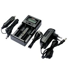 SoShine SC-H2 LCD Universal Charger for Li-ion 26650 18650 16340 14500 AA AAA C