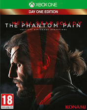 Metal Gear Solid V The Phantom Pain D1 Day One Edition XBOX ONE IT IMPORT KONAMI