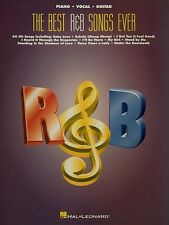 Best R&B Songs Ever Sheet Music Piano Vocal Guitar SongBook NEW 000310184