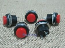 Red Momentary Push-Button ON OFF Switch R13-507 10PCS