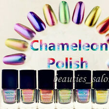 6pcs/Set BORN PRETTY Chameleon Nail Polish Varnish 6ml (Black Base Color Needed)