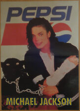 Michael Jackson poster from Bravo Magazine Black or White Dangerous (3) PEPSI