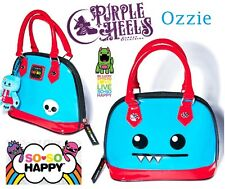 Loungefly Loves So So Happy Ozzie Quazee Blue Bowler Bag