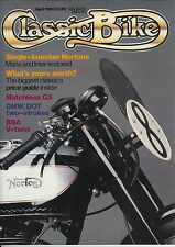 Classic Bike 1986-04  BSA G14 v-twin Matchless G3  Gregory DOT Demon Manx Norton