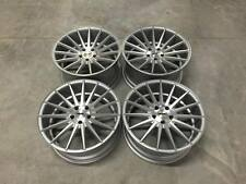 "20"" Staggered OEMS Stance SC7 Wheels Silver Machined VW / Audi / Mercedes 5x112"