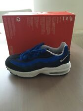 Nike Air Little Max 95' Ps Dark Obsidian Size 1.5 Uk 33.5 Eur [311524-408]
