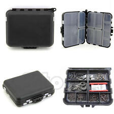 Waterproof Fishing Lure Bait Tackle Storage Bag Box Case With 26 Compartments