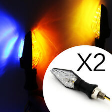 2x 12 LED 3528 SMD Motorcycle Double Color Turn Signals Blinker Indicators light