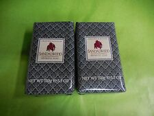 Crabtree & Evelyn  2 SANDALWOOD AROMATIC Soap 5.3 Oz Each NEW