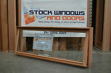 Timber Awning Window 596h x 1512w - Double Glazed  (BRAND NEW IN STOCK NOW)