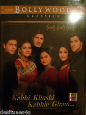 KABHI KHUSHI KABHIE GHAM * SHAHRUKH KHAN - ORIGINAL BOLLYWOOD DVD - FREE POST