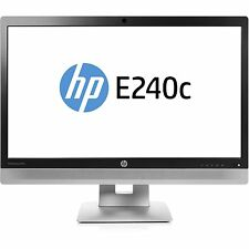 "HP EliteDisplay E240c 23.8"" 1080p 7ms VGA/HDMI/DP IPS LED MONITOR"