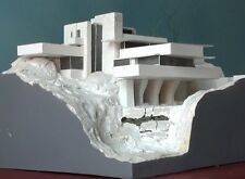 Frank Lloyd WRIGHT, FALLINGWATER 1:200 Architecture scale model, made in Italy,