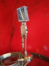 Vintage RARE 1960's Inada Dynamic microphone Aiwa old Midland Calrad Japanese 77