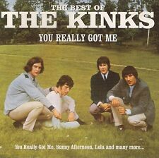 THE KINKS   YOU REALLY GOT ME    THE BEST OF THE KINKS    CD