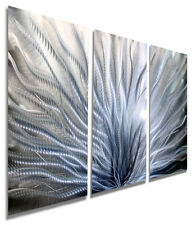 Metal Abstract Modern Hand Painted Wall Art - Original Home Decor by Jon Allen