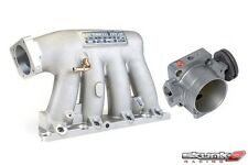 SKUNK2 Intake Manifold Pro Silver+Throttle Body 74mm 02-06 Acura RSX K20A2/K20Z1