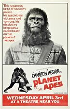 PLANET OF THE APES movie poster (d) CHARLTON HESTON