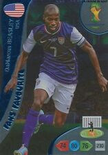 N°351 DAMARCUS BEASLEY # FANS USA PANINI CARD ADRENALYN WORLD CUP BRAZIL 2014